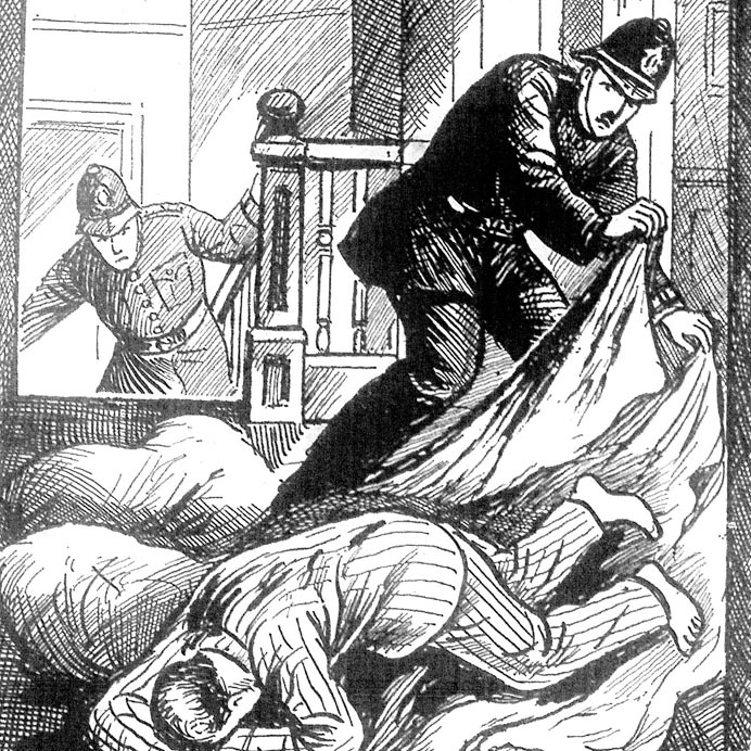 Murder illustration used with the permission of Dr Jan Bondeson