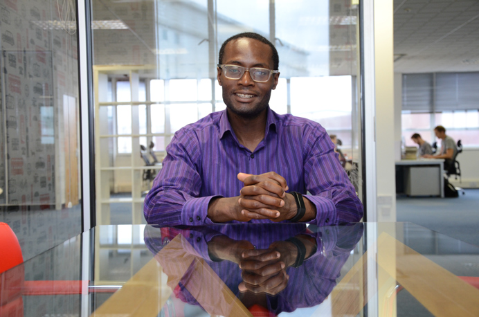 Alex Molokwu of Co Work Hub used a Smart Energy Grant from the council