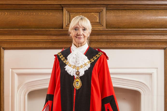Councillor Patricia Walker, mayor of Ealing 2016-17