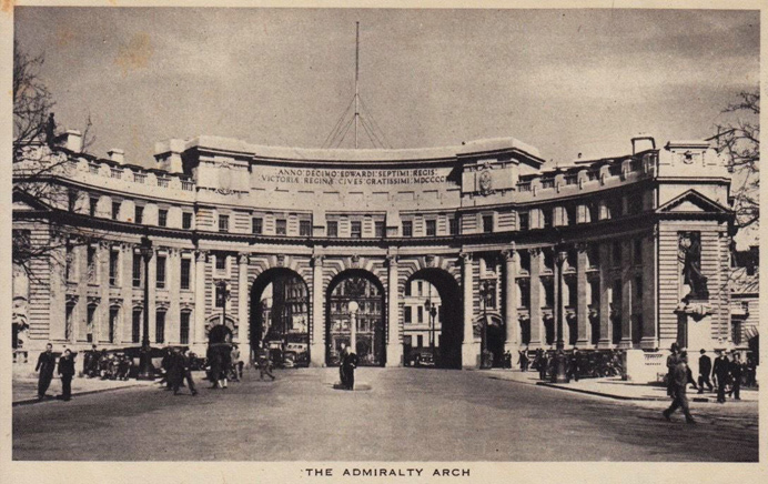 Admiralty Arch in central London