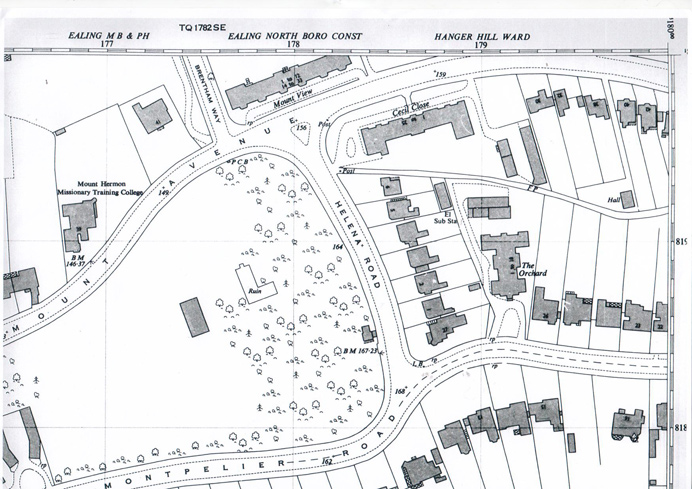 Montpelier Road area map