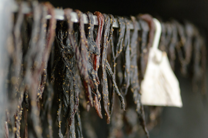 Biltong at Limpopo Butchers in Acton