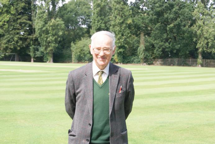 Ivor Chaplin, the long-serving scorer at Brentham Cricket Club