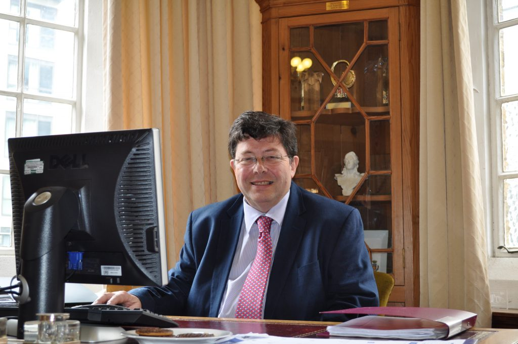 Councillor Simon Woodroofe, Mayor of Ealing 2017-18