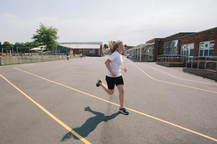 Daily mile at Selborne Primary