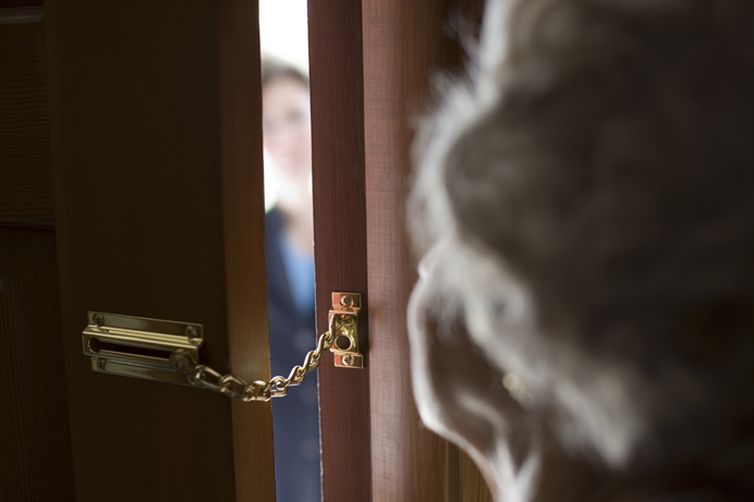 Beware who is at the door - could it be a bogus caller?