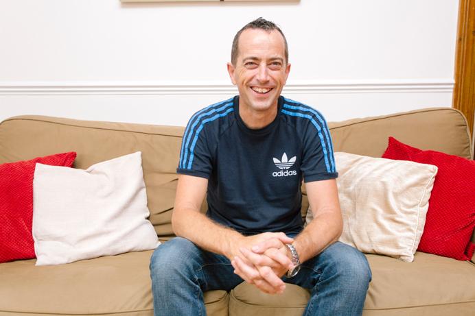 Foster carer Pete Cornford