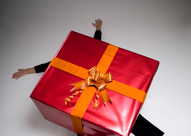 Online shopping for presents
