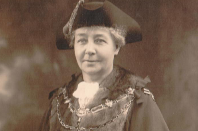First woman councillor in Ealing and in Hanwell, Emily Taylor