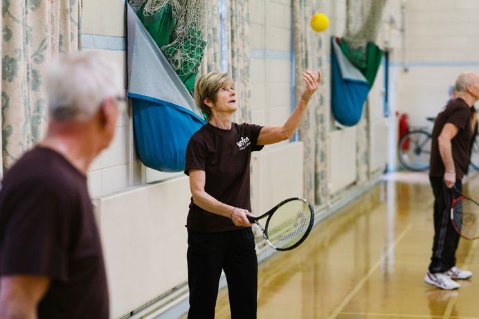 Short tennis session for over-50s at Perivale Sports Centre