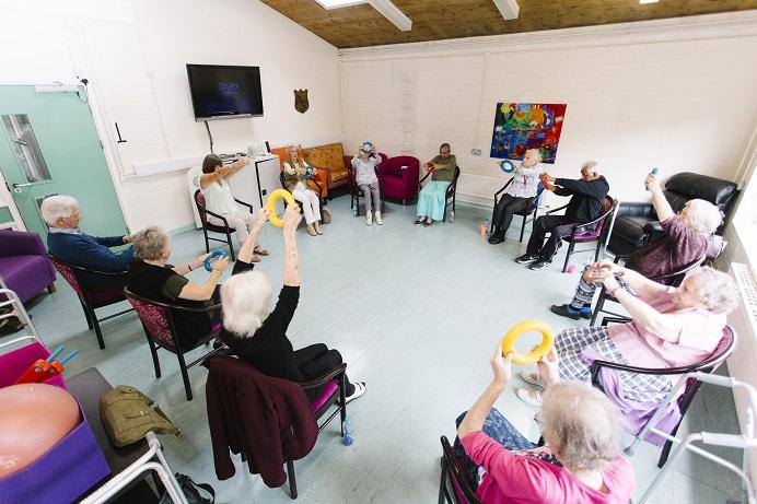 Michael Flanders Centre - mobility exercises