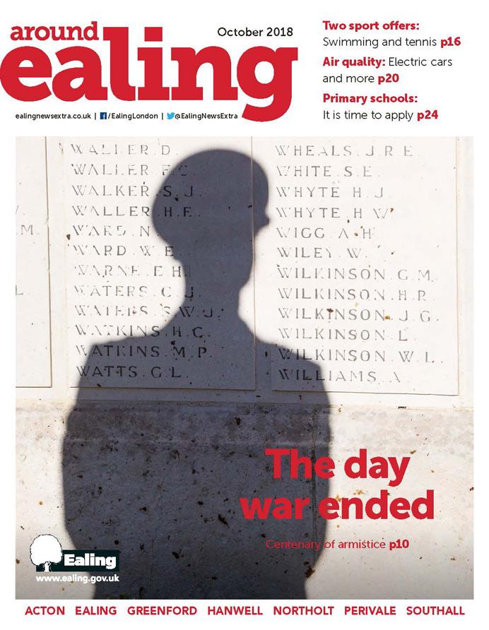 Around Ealing magazine October 2018