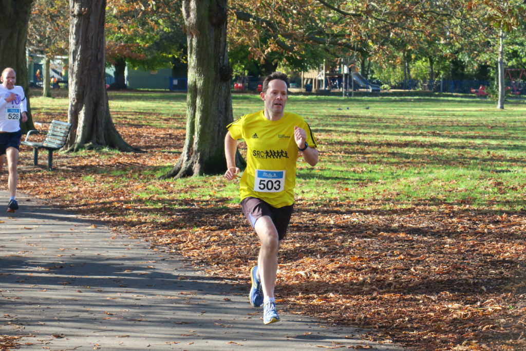 running the Ealing Mile