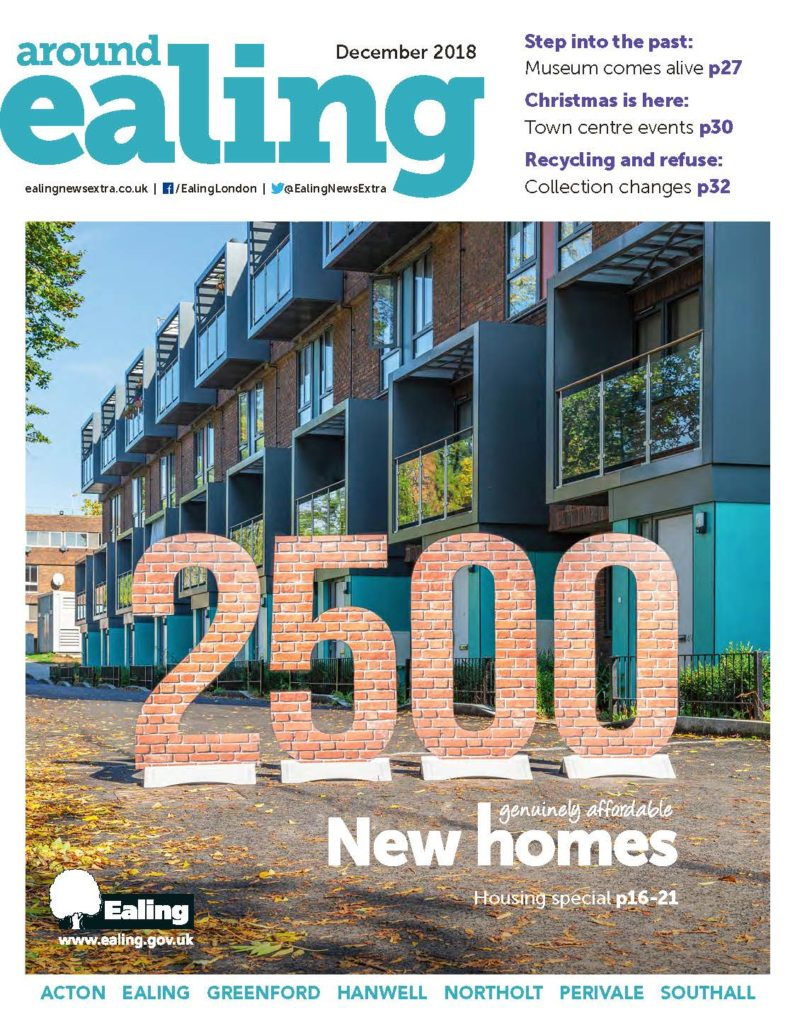 Around Ealing magazine December 2018