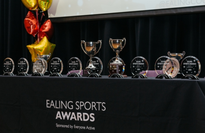 Trophies for Ealing Sports Awards