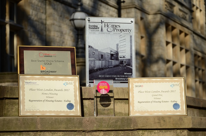 Awards for Copley W7 redevelopment