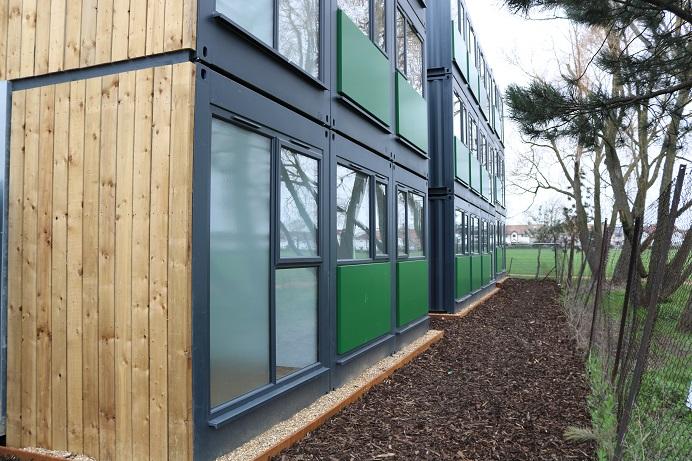 Westfields Lodge, modular housing