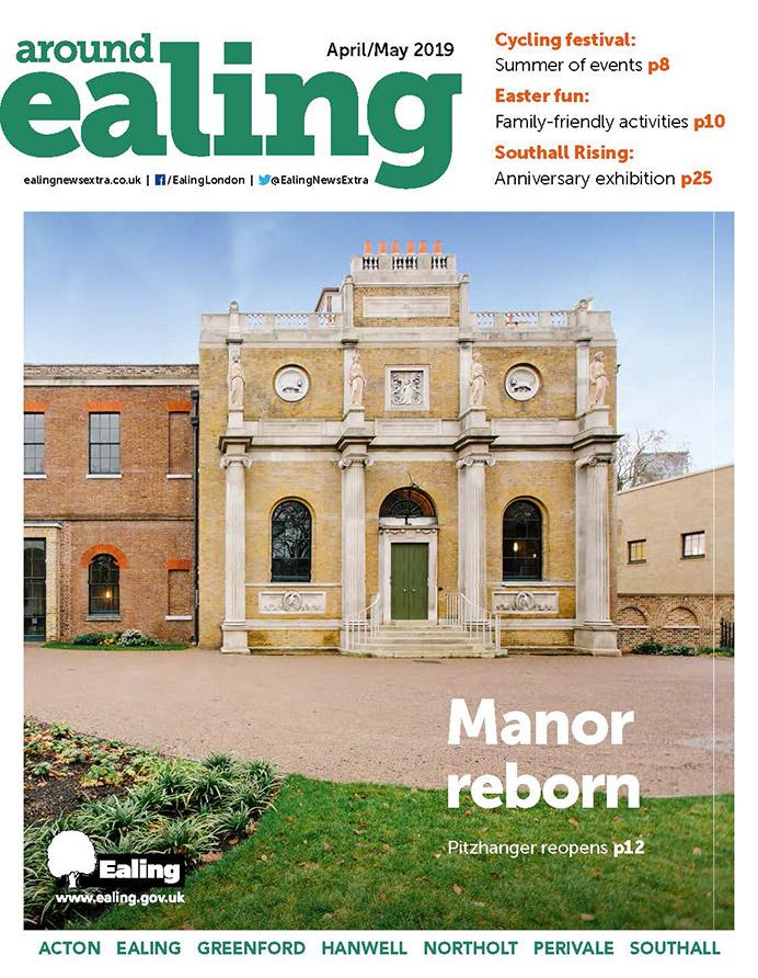 Around Ealing magazine April-May 2019