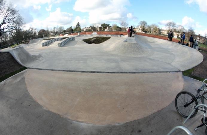 Acton skate park