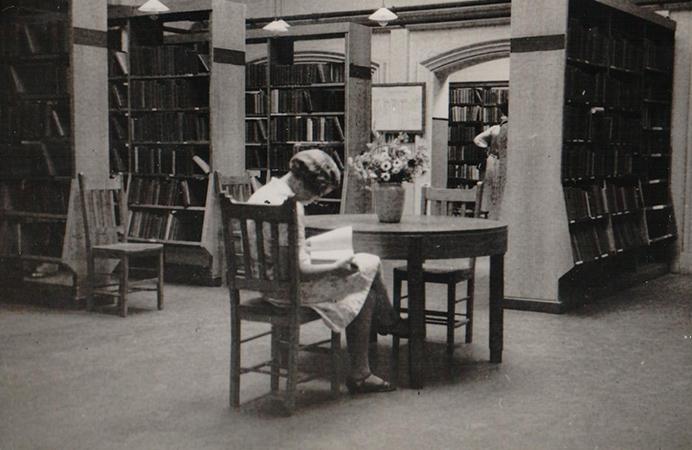 Acton Library interior