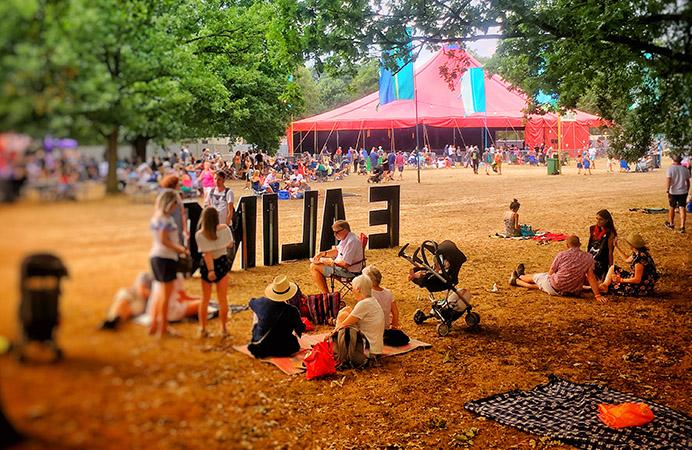 DETAIL from Ali Moosavi photo of summer festivals in Walpole Park, Ealing (Seasons of Ealing summer 2018 contest)