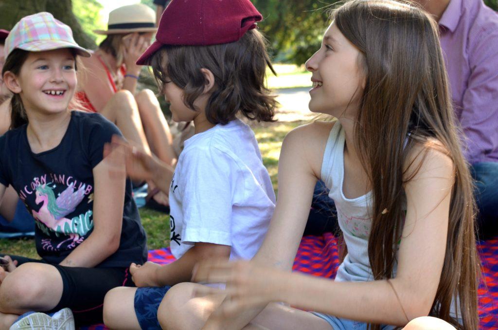 Children's activities at Gunnersbury Park