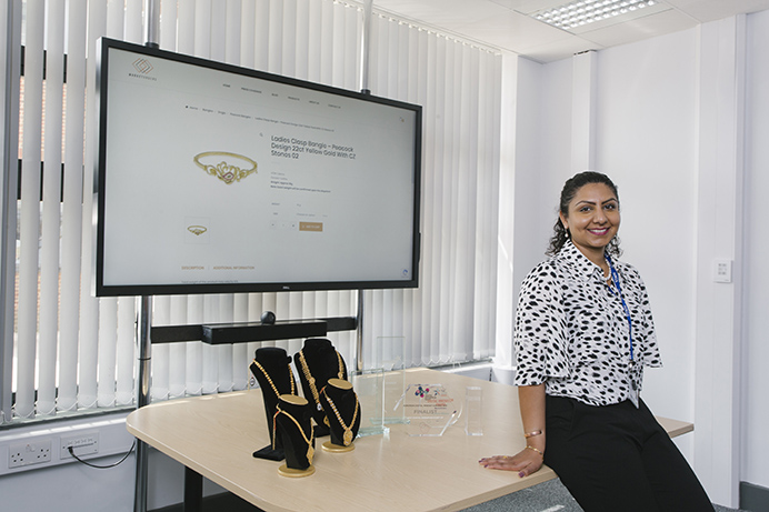 Sukhi Jutla received training support for her MarketOrders business and it has been a big success