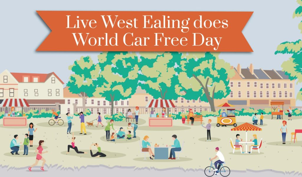 Live West Ealing gets on board with World Car Free Day