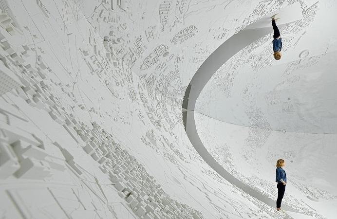 HyperFocal, a piece by artist Es Devlin OBE.