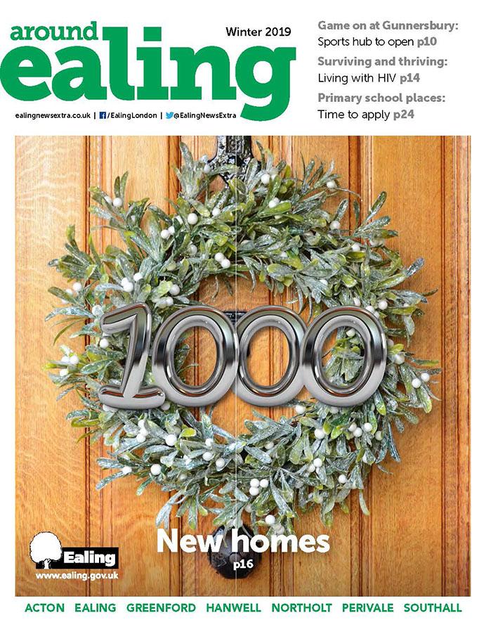 Around Ealing magazine - winter 2019 edition