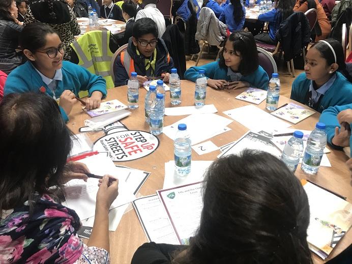 Junior Travel Ambassadors at training and fun day event