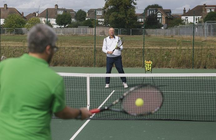 Eight new courts in Gunnersbury Park