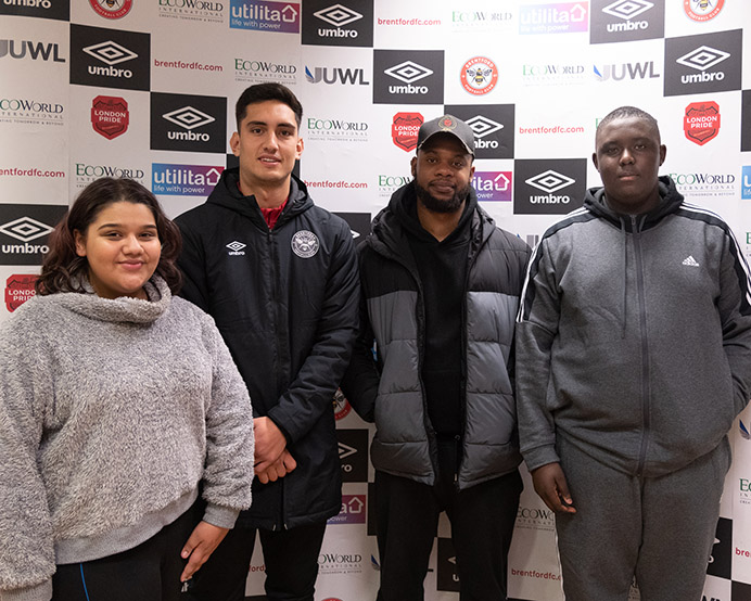 Westside Radio DJ workshop for young carers through Brentford FC CST