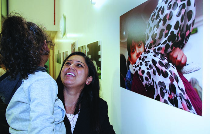 Greenfields Nursery School photo exhibition called Our Neighbourhood