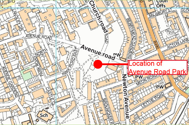 Mill Park location map