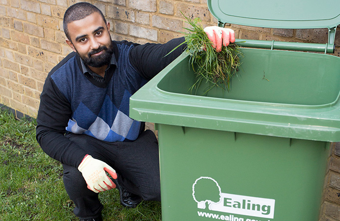 Council's garden waste collection service