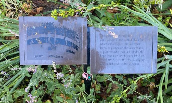 Windrush memorial