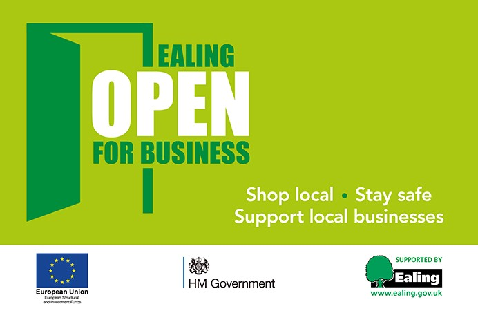 Ealing open for business