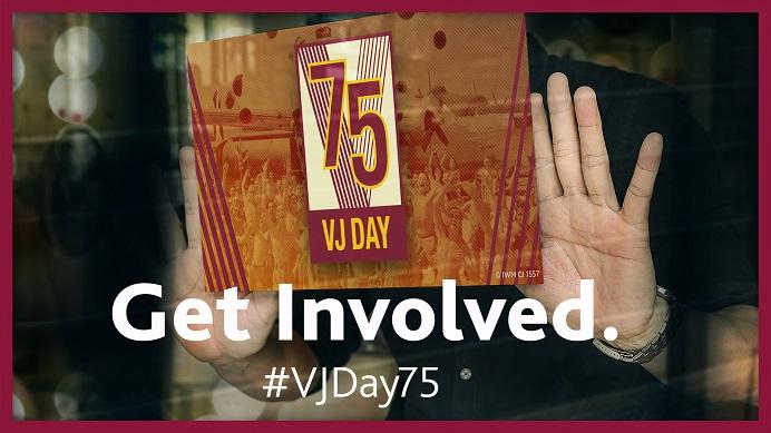 VJ Day 75 get involved