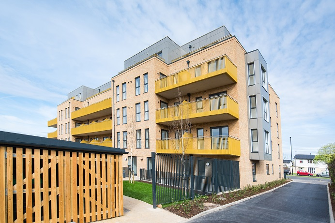 301 Ruislip Road, a Broadway Living development, part of the council's 50-year investment in homes