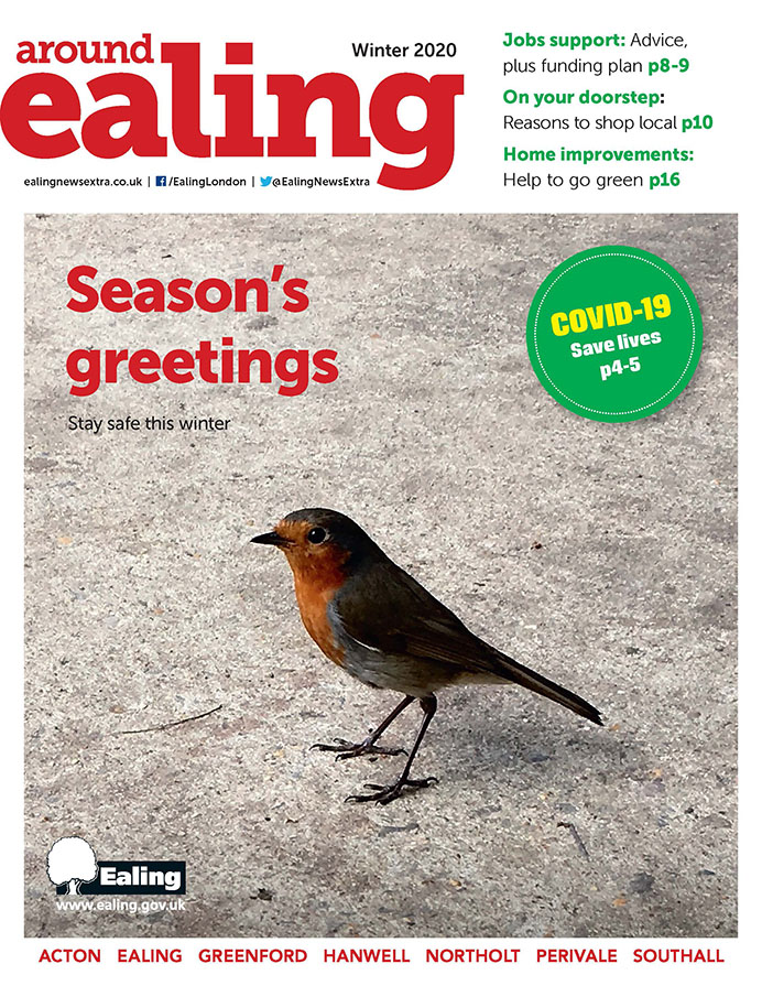 Around Ealing magazine - Winter 2020 edition