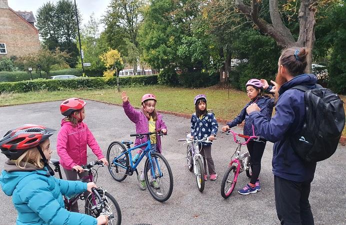 Children get cycle training