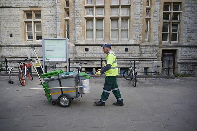 Greener Ealing street cleaning