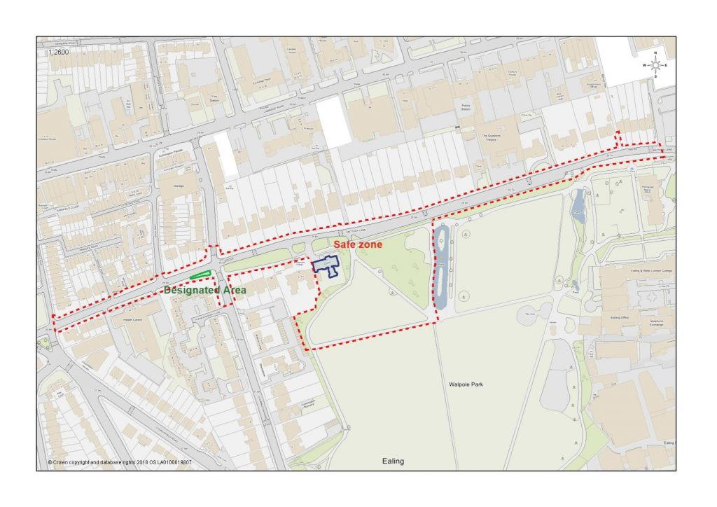 Mattock Lane PSPO area