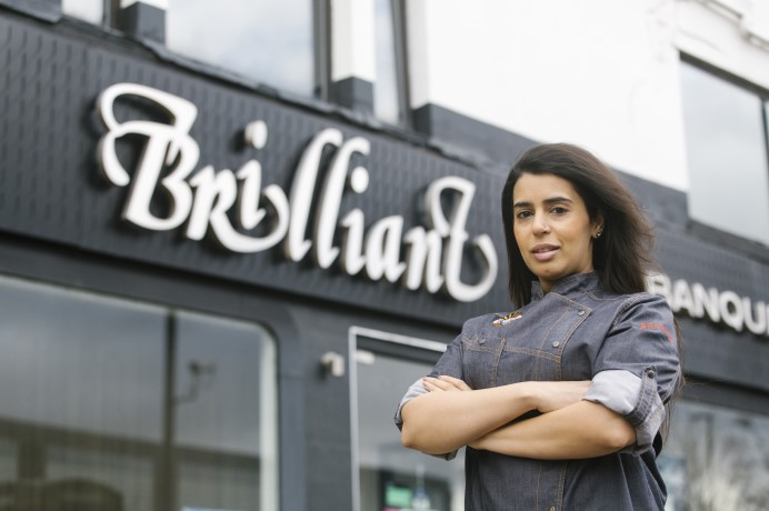 Dipna Anand, Brilliant Restaurant, Southall