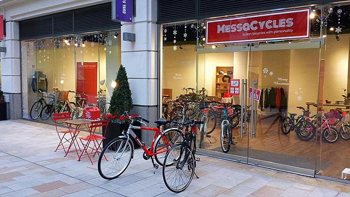MessaCycles shopfront