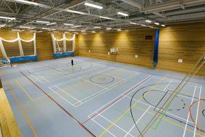 Gunnersbury Sports Hub - new sports hall