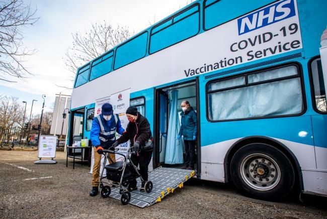 Vaccination bus