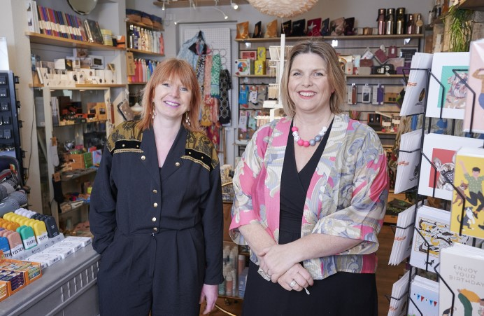 MOOCH business owners in their shop