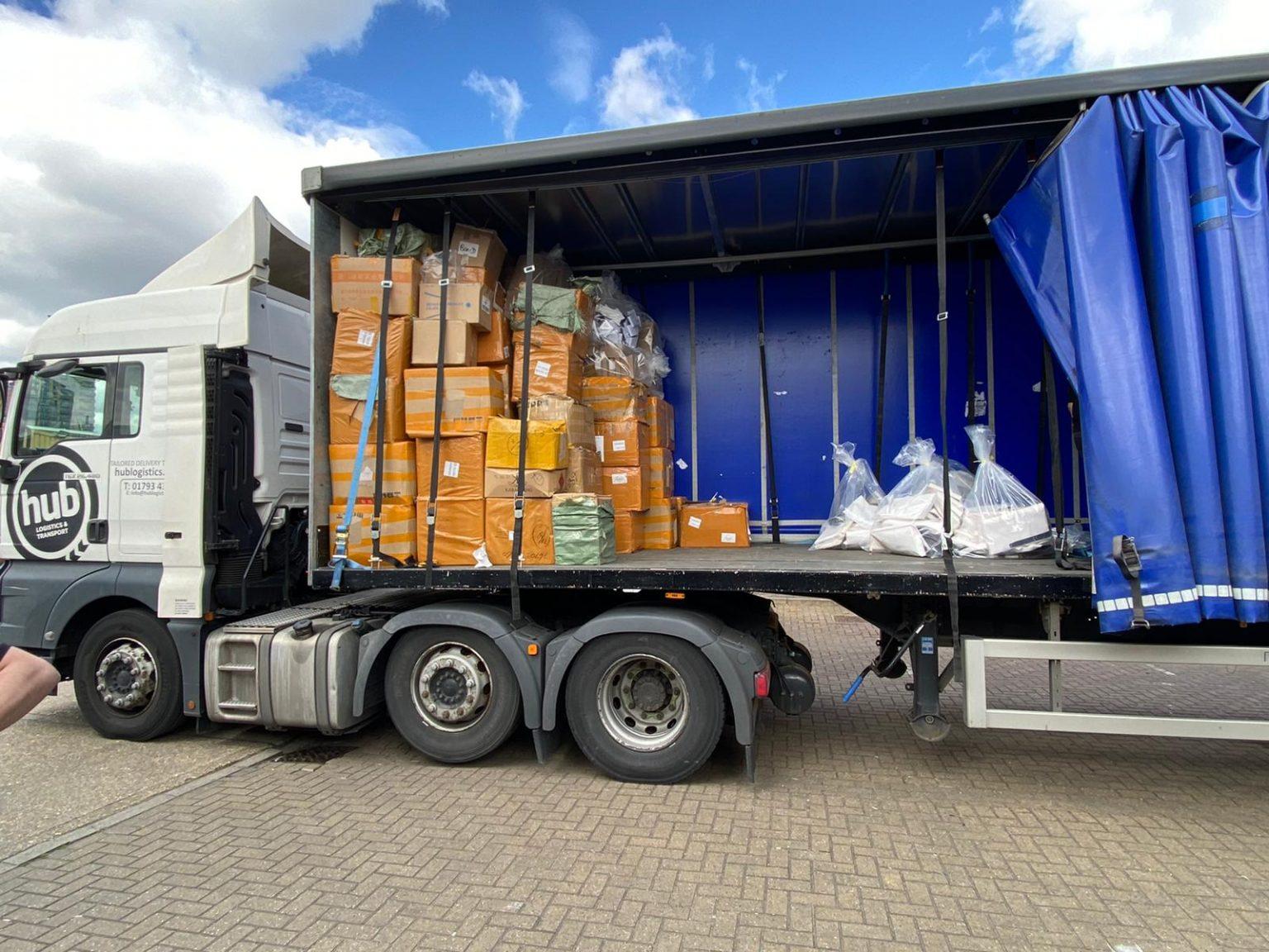Counterfeit goods seized